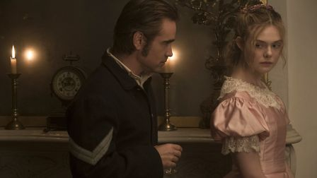Kirsten Dunst as Edwina and Colin Farrell as John McBurney in The Beguiled. Picture: Focus Features