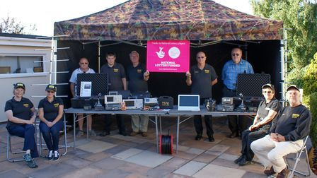 Members of the radio group. Picture: Bittern DX Group