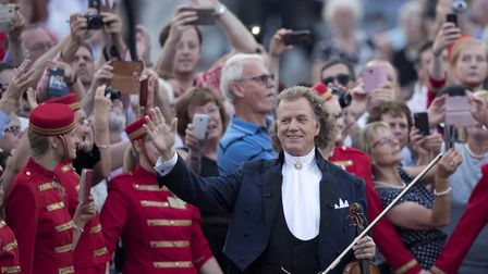 Andre Rieu's Maastrict Concert 2017 is beign screened at Diss Corn Hall. Picture: MARCEL VAN HOOM