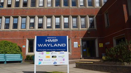 There were 81 attacks on staff at HMP Wayland in Norfolk last year. Picture: Ian Burt