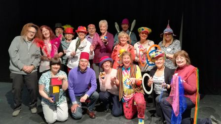 The Next Stagers drama group. Picture: Marina Theatre.