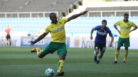 Cameron Jerome slotted a penalty at the Schuco-Arena. Picture: Paul Chesterton/Focus Images Ltd