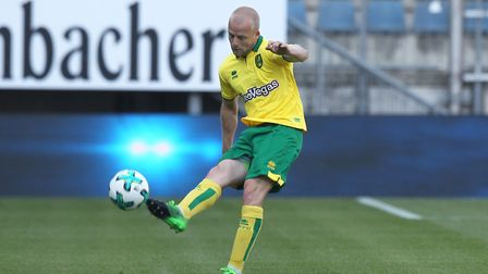 Steven Naismith of Norwich in action during the Pre-season Friendly match at the Schuco-Arena, Biele