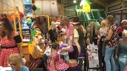 The fundraising event at Adventure Island Play Park for Hannah Coffill. Picture: Mark Boggis