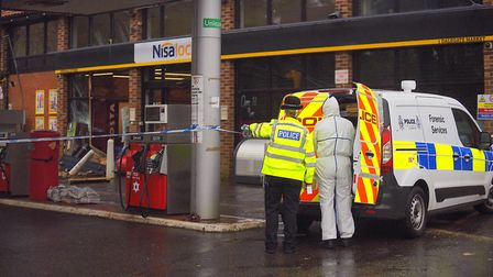 The Nisa shop in Burnham Deepdale was hit by ram raiders in the early hours of Monday morning. Pictu