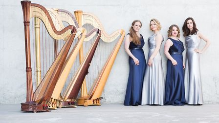 4 Girls 4 Harps. Picture: Archant Library