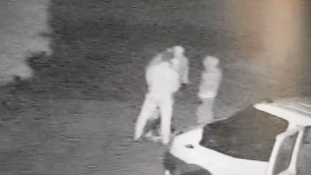 Still image from CCTV footage taken on New Road in Fritton. Picture: Kendall Brown