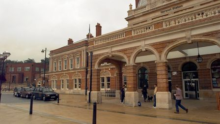 Norwich Train Station. Picture Archant Library