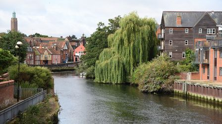 The River Wensum in Norwich. Picture: DENISE BRADLEY