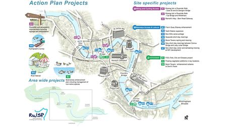 The action plan for the River Wensum. Image: Norwich City Council