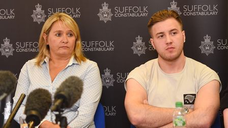 Mother Nicola Urquhart and brother Darroch McKeague appealed for information on missing Corrie McKea