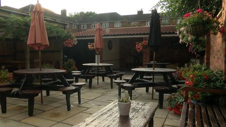 Outside seating area at The Duke of Wellington, Norwich. Photo: Mustard TV.