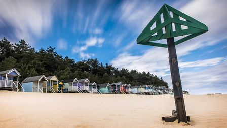 The beach at Wells Next the Sea. Picture: Matthew Usher.