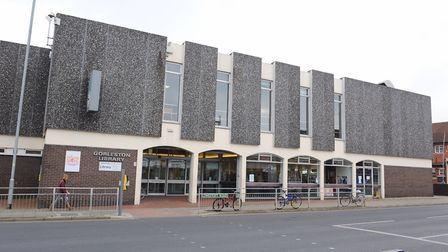 Gorleston Library on Lowestoft Road. Picture: James Bass