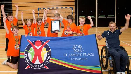 Albert Pye crowned as Panathlon Challenge South East Primary champions at the Olympic Copper Box Are