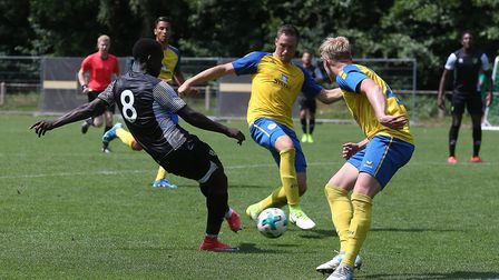 Diallang Jaiyesimi scored Norwich City U23s late reply against Braunschweig U23s on Friday in German