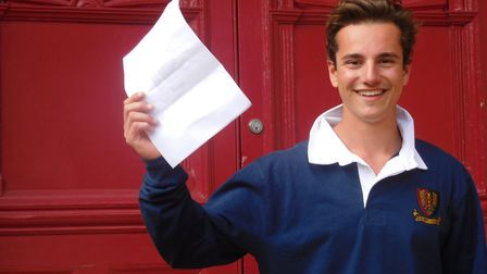 Boarder Seb Florax, from King�s Lynn, scored 39 points - the equivalent to three A*s and one A at A-