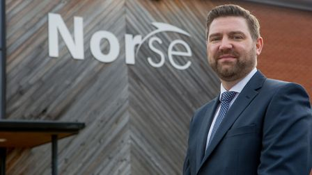 Norse Commercial Services managing director Dean Wetteland. Picture: Norse Commercial Services