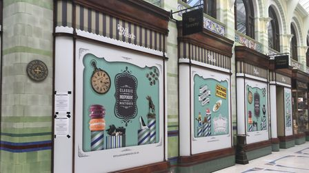 The former home of Colman's Mustard in Norwich's Royal Arcade is set to become a restaurant. Photo: