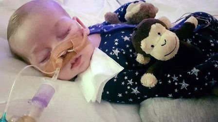 BEST QUALITY AVAILABLEUndated family handout file photo of Charlie Gard, as a High Court judge is