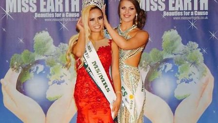 Cera Wong from Norwich has been named Ms Earth UK. Picture: Submitted