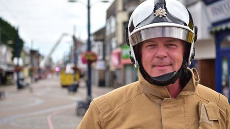 David Ashworth, who has more than 34 years of experience in the fire service, has led the countys s
