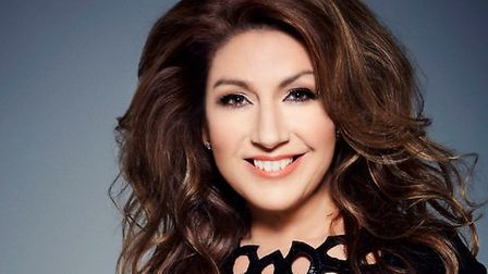 Jane McDonald will return to the Marina Theatre in Lowestoft next month. Picture: Courtesy of the Ma