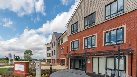 Cavell Court care home, on Dragonfly Lane, Cringleford. Supplied