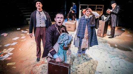 Norwich Theatre Royal new shows - Jules Verne's Around the World in 80 Days. Photo: Andrew Billingto
