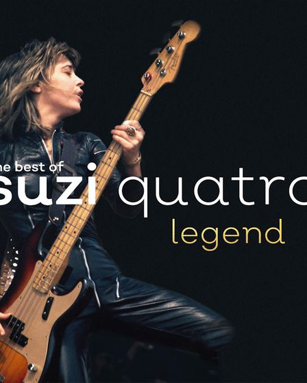 A new greatest hits album, The Best of Suzi Quatro: Legend, is out on September 22. Picture Noble P