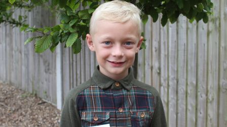 Eight-year-old Sheringham Carnivall prince Jack Yaxley. Picture: KAREN BETHELL