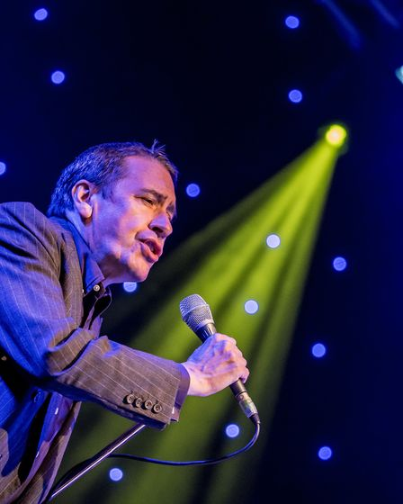 Jools Holland and his Rhythm and Blues Orchestra perform at the Outside Live concert at Taverham Hal