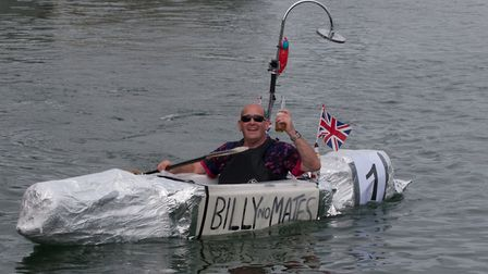 Scenes from the 2017 Wells Carnival raft race. Picture: CY FOR WELLS CARNIVAL