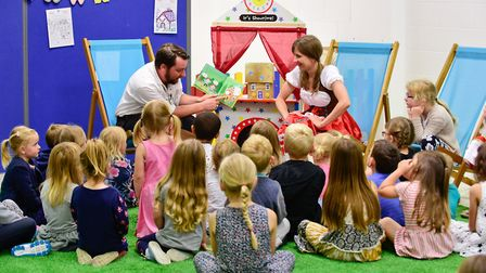 Fairy tales are the theme of Castle Mall's Kastle Kids club in Norwich this summer, starting with Ha