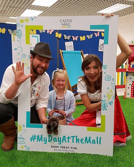 Fairy tales are the theme of Castle Mall's Kastle Kids club in Norwich this summer. Pictured is Holl