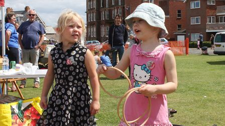 Fun on the Leas at Sheringham carnival crowning day. Picture: KAREN BETHELL