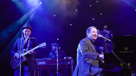 Jools Holland and his Rhythm and Blues Orchestra plus special guests perform at the Outside Live con