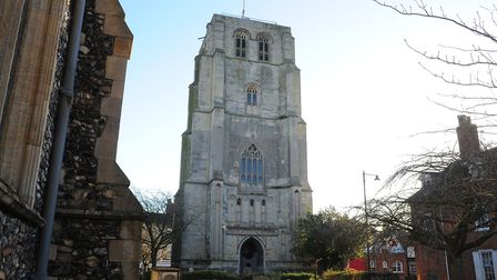 Repair and safety works will be carried out on Beccles clock tower. Picture: Archant.