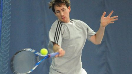 Richard Bloomfield won all 12 of his matches for Norfolk in Ilkley. Picture: Denise Bradley