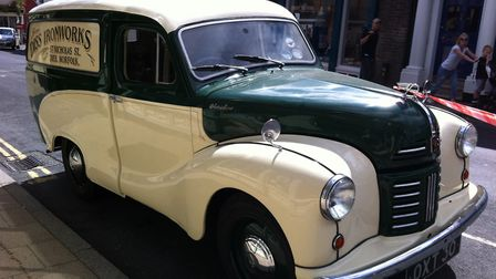 The Diss Heritage Transport Fayre. A Diss Ironworks Austin van. Picture: ARCHANT LIBRARY