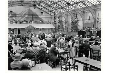 interior of the Winter Gardens at Great Yarmouth, 1960s Archant copyright photo LIB201503