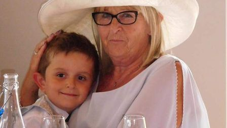Jenny Jefferson with her grandson Ellis Taylor. Picture: Taylor Family