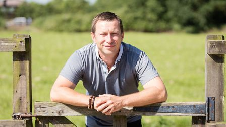 Norfolk poultry farmer Billy Swain has won a Young Producer award from Marks and Spencer. Picture: J