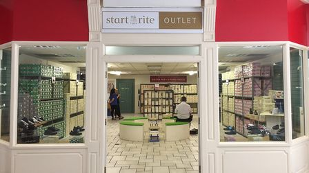 The new pop-up Start-rite shop in Norwich's Castle Mall. Picture: Archant