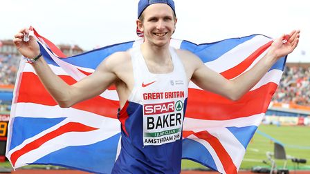 Chris Baker will not be representing GB in the World Athletics Championships. Picture: Martin Ricket