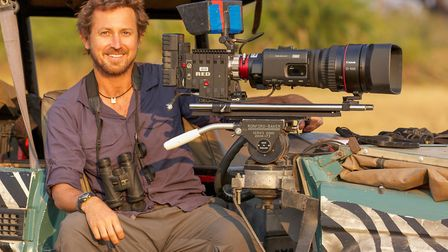 BBC Planet Earth II producer Dr Chadden Hunter hosted a talk about the series for King's Lynn Festiv
