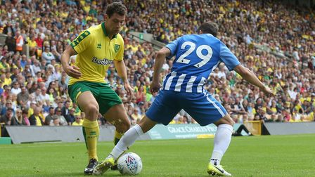 Yanic Wildschut has had a strong end to pre-season with Norwich City. Picture: Paul Chesterton/Focu