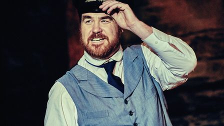 Stewart Wright who is playing station-master Perks in The Railway Children. Picture: Mark Dawson