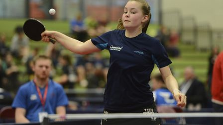 Mollie Patterson in action in the Cadet National Cup. Picture: Trevor Parsons