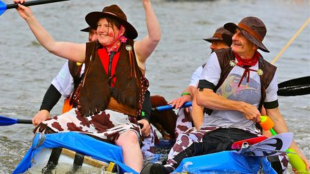 Scenes from a previous Wells carnival raft race. Picture: Emma Licence